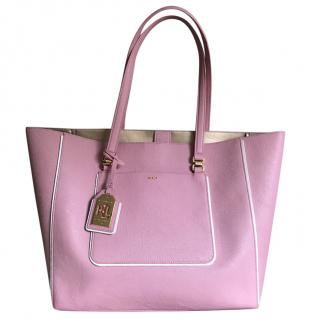 Ralph Lauren Pink large tote and pouch