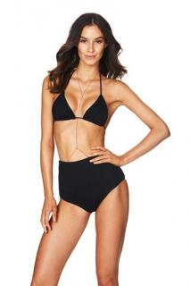 Nookie Beach Black Sugar Baby Triangle Top and Briefs