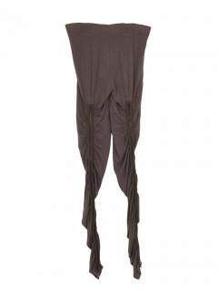 Acne high grey legging with zips