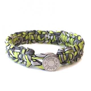 Hermes Silk Twill Kid Bracelet