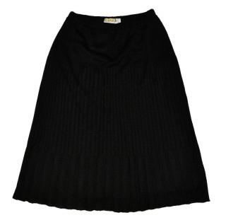 WOLFORD Black pleated Skirt