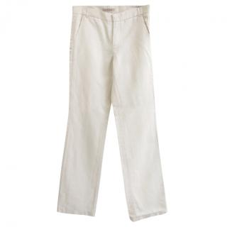 See by Chloe Linen Tuxedo Pants