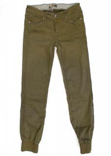 Paige Khaki Green Jeans