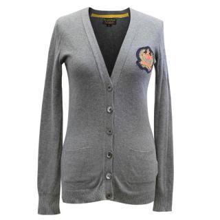 Ralph Lauren Polo Jeans Company Grey Cardigan