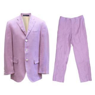 Ralph Lauren Lilac Suit