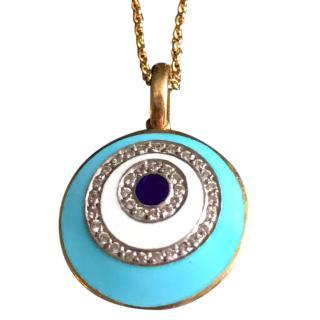 Diamond Eye Pendant