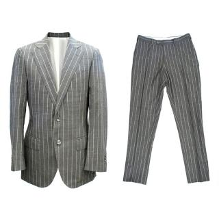 Suitsupply Grey Stripe Wool Suit