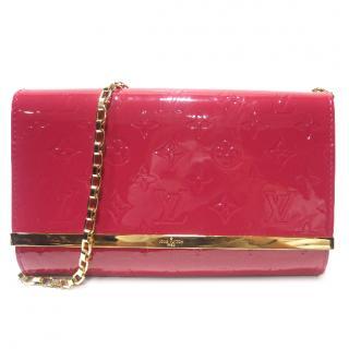 Louis Vuitton Pink Vernis Ana Chain Bag