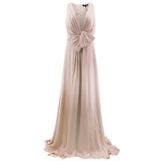Jenny Packham Dusky Pink Full Length Dress