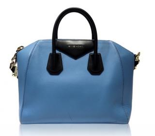 Givenchy Antigona Large Bi-Colour Blue & Black