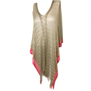 Missoni Knitted Cape.