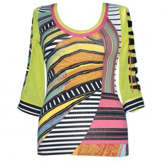 Save The Queen Abstract Blouse