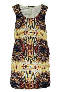 Supertrash Abstract Print Dress