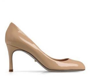 Sergio Rossi patent leather mannequin pump