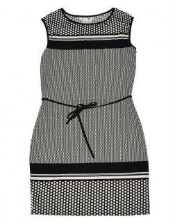Max Studio by Max Mara Stunning Polka Dot Tie Dress