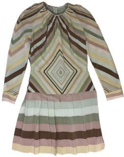 Valentino printed Silk Dress.