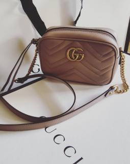 Gucci matelasse Marmont crossbody