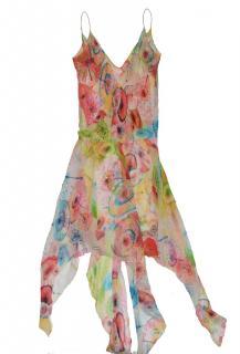 Diane von Furstenberg - Silk Flora Sequin Dress