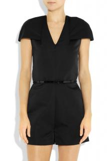 3.1 Phillip Lim - belted structured satin silk playsuit