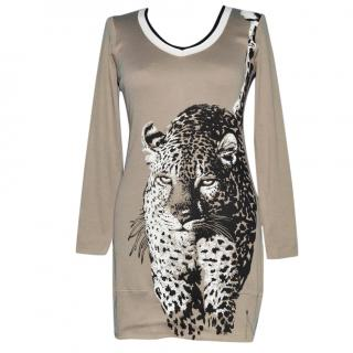 Marc Cain Sports Animal Print Cotton Tunic