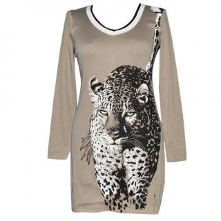 Marc Cain Sports Animal Print Cotton Tunic