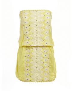 Melissa Odabash Dru yellow dress