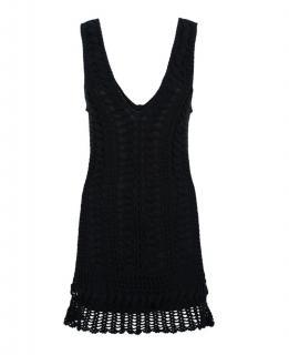 Melissa Odabash Alexis black Crochet dress