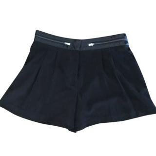 Armani Exchange black shorts