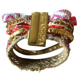 Hipanema multicoloured magnetic bracelet