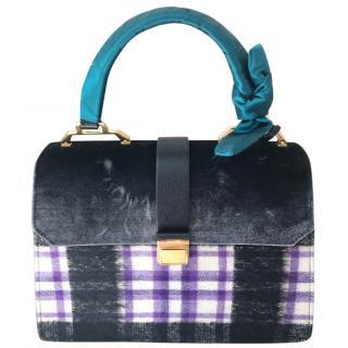 Miu Miu velvet handbag