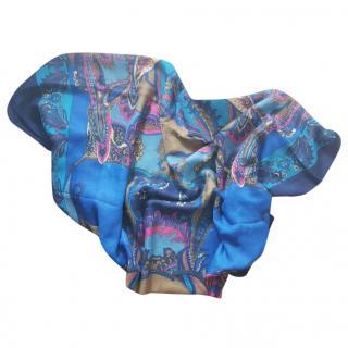 Silvio Tossi Cotton Shawl Multicolored