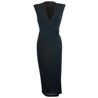 Amanda Wakeley Black Midi Dress