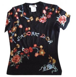 Christian Dior floral J'Adore Dior T-shirt
