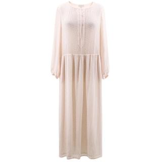 Gerard Darel Pablo Pink Maxi Dress