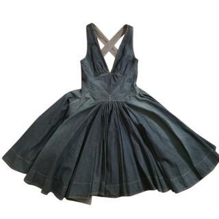 Dolce & Gabbana Blue cotton denim dress