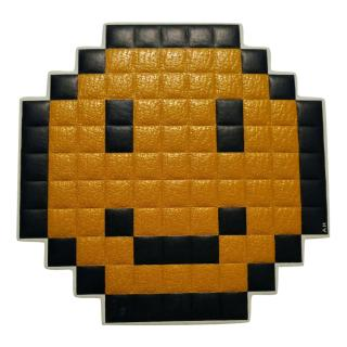 Anya hindmarch large smiley pixel sticker