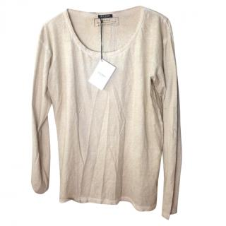 Pierre Balmain Distressed Long Sleeved Tee