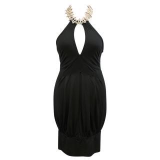 A'bbiddikkia Halterneck Dress