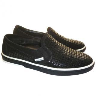 Jimmy Choo Black Sneakers
