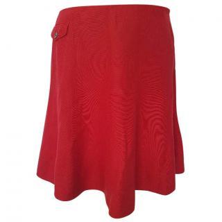 Ralph Lauren Red Skirt