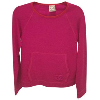 Chanel Pink Sweater