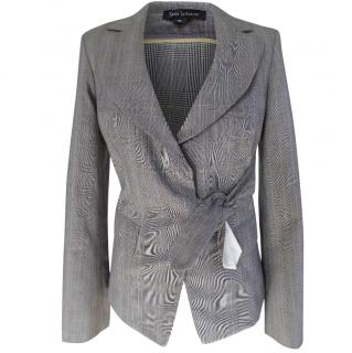 Tara Jarmon Grey Check Jacket