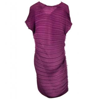 Lanvin Fuschia Dress