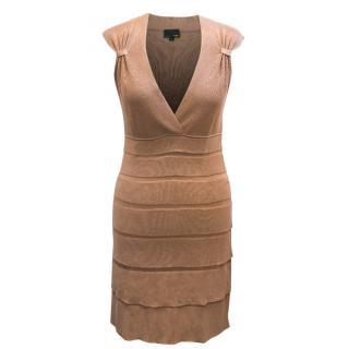 Fendi Beige Knit Dress