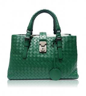 Bottega Veneta Small Roma Bag Green