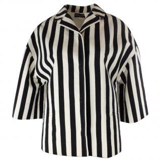 Dolce & Gabbana Women's White Striped Jacket