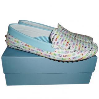 Simonetta leather loafers