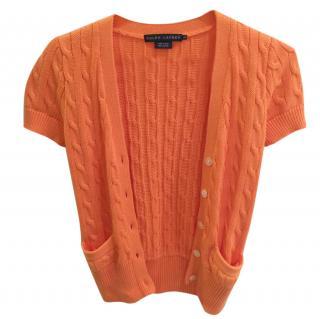 Ralph Lauren Orange Knit Jumper XS