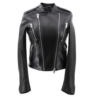 Saint Laurent Black Leather Jacket
