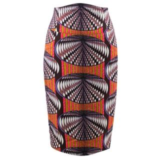 Stella Jean Multicolor Pattern Skirt